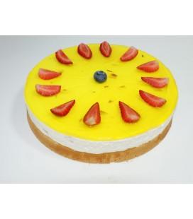 Творожное-сырный торт
